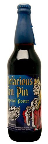 Ska Brewing - Nefarious Ten Pin Imperial Porter