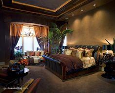 Master Bedroom - Oooh la la - www.getdecorating.com