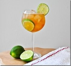 Ginger and Lime Rickey
