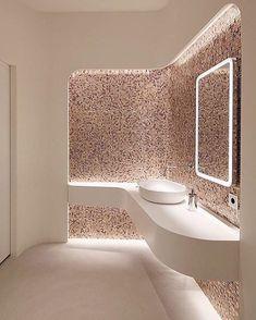Messe – Bavaria Lounge – Sanitary ladies with the finest mosaic – Tina Aßmann Münc … – diy Interior design