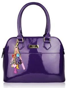 Womens Designer Purple Maisy Inspired Patent Grab Handbag KCMODE, http://www.amazon.com/dp/B005OQFKNM/ref=cm_sw_r_pi_dp_HSm4qb0W68CBB