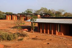 Opera Village, Burkina Faso by #DiebedoFrancisKere @designboom #outsidein #insideout xoxo
