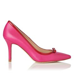 Farell Red Pointed Heels