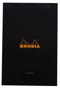 Rhodia Staplebound Notepads - Blank 80 Sheets - 8 x 12 in. Brush Pen Calligraphy, Calligraphy Tutorial, Brush Lettering, Modern Calligraphy, Hand Lettering, Free Font Websites, Cute Pencil Case, Calligraphy For Beginners, Tombow Dual Brush Pen