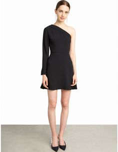 Cara One Shoulder Blazer Dress