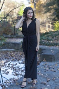 Black Maxi Holiday D