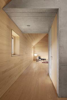 Bernardo Bader · House Bäumle Holz Innenarchitektur, Wohn Design, Haus  Design, Modernes Design