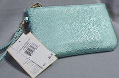 c1430 ADRIENNE VITTADINI Women's Charging Wallet NWT MSRP $60 Ice Blue Pebble  | eBay