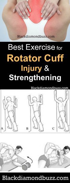 Exercises for rotator cuff injury -Don't be scared if you are experiencing a rotator cuff pain. Rotator cuff tear happens to so many people around the world yearly. It is one of the most common causes of shoulder pain. Though it can be a major setback, there are numerous exercises that can help ...