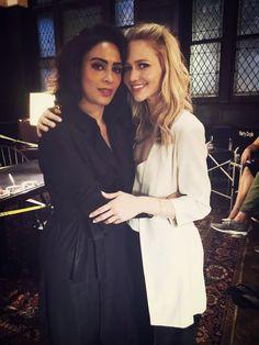 Johanna's Birthday   Nimah & Shelby #Quantico Yasmine Al Massri & Johanna Braddy