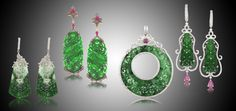 Designer Jewelry by Angelique de Paris-jade like it's never been done before!