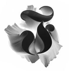 Alphabetical Fractal-esque 3D Prototyping