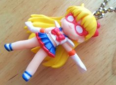 Sailor Moon - Gashapon Swing 2 Keychain - Venus Sailor V - Figure Doll