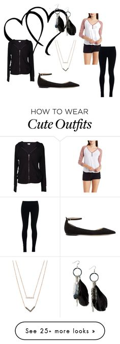 """""""Cute Outfit"""" by miriambw on Polyvore featuring Charlotte Russe, Jimmy Choo, Michael Kors, NIKE, MANGO, Velvet by Graham & Spencer, women's clothing, women, female and woman"""