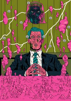 cezar berje, chaotic, brazil, illustration, illustrations, distorted, colorful, detailed, surreal, upper playground