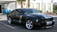 Featuring a custom hood, custom brakes, American Racing wheels and Shelby Automobiles badging, the CS 6 also sported a Paxton centrifugal supercharger that pumped the to 350 hp. Ford Mustang Classic, Mustang Cobra, Ford Mustang Shelby, Ford Mustangs, Car Ford, Ford Trucks, 4x4 Trucks, Chevrolet Trucks, Diesel Trucks