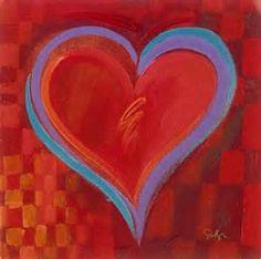 Simon Bull Various Sizes Gallery Wrap Canvas w// COA Hearts of Love