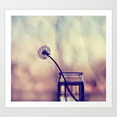 lonely Art Print by ingz - $18.00