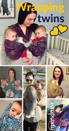 How Babywearing Twins Helped This Family Thrive!