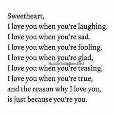 Sweetheart..