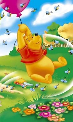 69 Ideas Quotes Famous Disney Winnie The Pooh For 2019 Winnie The Pooh Christmas, Cute Winnie The Pooh, Winne The Pooh, Winnie The Pooh Quotes, Winnie The Pooh Friends, Color Wallpaper Iphone, Disney Wallpaper, Arte Disney, Disney Art