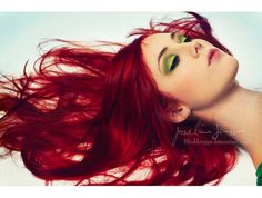 By Josefine jonsson , beautiful fire red hair