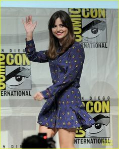 Jenna Coleman on Doctor Who Panel