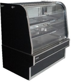 Koldtech KT.HCD.9 Curved Glass Heated Display - Hot Food Display & Bain Marie - Kitchen & Catering Equipment