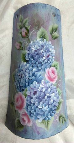 One Stroke Painting, Finger Painting, Painting Patterns, Fabric Painting, Tile Crafts, Acrylic Flowers, Learn To Paint, Metallic Paint, Diy Art