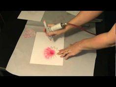 Copic Airbrush System - airbrushing gems, paper & ribbon etc