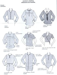 Fashion Vocabulary: Jackets Names, via Fashion Terminology, Fashion Terms, Fashion 101, Fashion History, Fashion Details, Fashion Bible, Fashion Dictionary, Fashion Vocabulary, Fashion And Beauty Tips