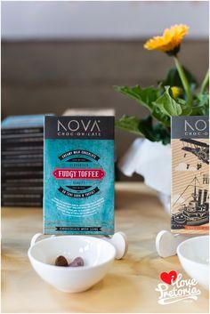 @kamersvol 2014 | Nova Chocolate | I Love Pretoria Pretoria, Toffee, Nova, Milk, Chocolate, My Love, Tableware, Salt Water Taffy, My Boo