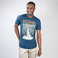 Watership Down book cover t-shirt