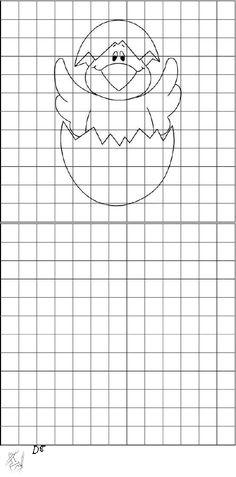 Dibujos en Cuadrcula  peces  Pinterest
