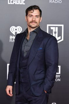 Henry Cavill at Justice League World Premiere in Los Angeles, 13th November 2017.