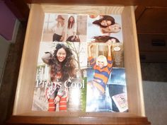 Line your desk and dresser drawers with magazine pages or wrapping paper!