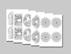 Gallery Advent — Firewheel Press for Beautiful Bible Coloring Printable Christmas Cards, Christmas Cards To Make, Christmas Colors, Christmas Crafts, Christmas Trees, Christmas Activities For Families, Family Activities, Christmas Events, Coloring For Kids