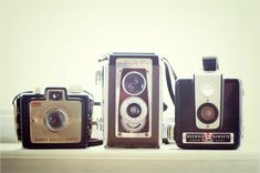 cool old-fashioned cameras!