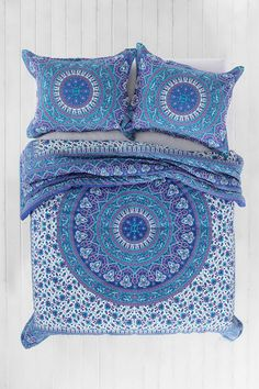 Magical Thinking Ophelia Medallion Comforter (comes in Twin/Full) UrbanOutfitters.com Really intricate and pretty