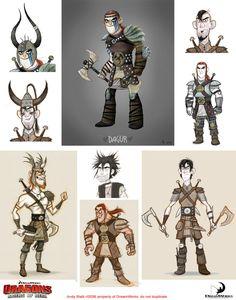 "http://andybialk.blogspot.hk/  DreamWorks ""DRAGONS: Riders of Berk"""