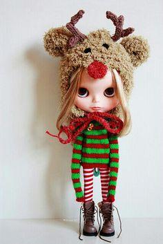 Rein'dear' Blythe Doll