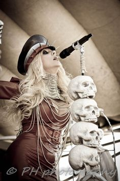 In This Moment~ Buffalo, NY 2012 ©PH photography #inthismoment #mariabrink #music #photography #concert #live