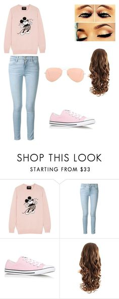Cute Outfit by dobrepanda on Polyvore featuring Markus Lupfer, Frame, Converse and Ray-Ban