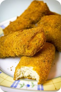Dutch Chicken Croquettes