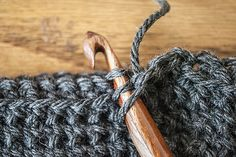 Crochet Thermal Stitch Creates a thick sturdy fabric