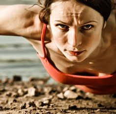 16 Minutes Closer to Buff Arms: Push-Up Workout: Push-ups are one of the most effective exercises to target your upper body, and mixing in some variations to the basic move will help tone your abs, legs, and butt.