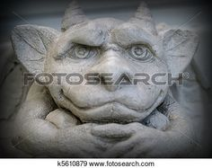 gárgola, estatua Ver Imagen agrandada