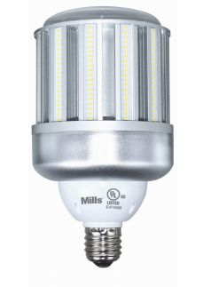 Mills 100W LED Corn Light - 320W Equal Replacement HID Retrofit Lamp - 12000 Lumens - DLC Qualified