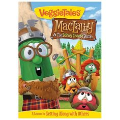 Veggie Tales: MacLarry & the Stinky Cheese Battle (DVD, 2013)