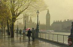 Bondarenko Yuri Mikhaylovich - 'London Spring'